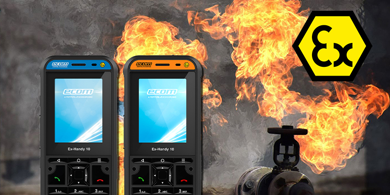 Talking Intrinsically Safe with the Ex-Handy DZ Feature Phones